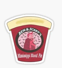 Ben and Scary's-Mississippi Blood Pie Sticker