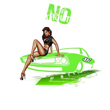 Muscle Car Sexy Women Gift by Dagostino