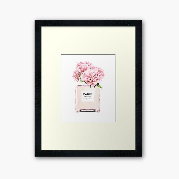 Blumen drucken Gerahmter Kunstdruck