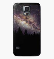Wald und Galaxie Hülle & Klebefolie für Samsung Galaxy