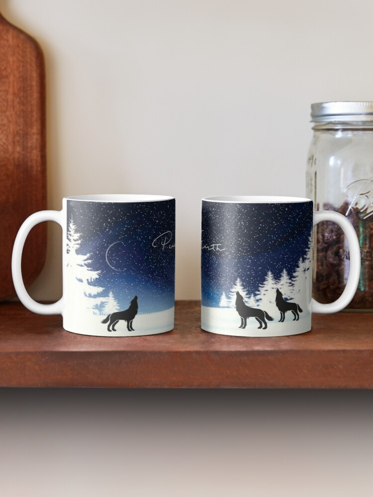 Alternate view of Peace on Earth  Mug