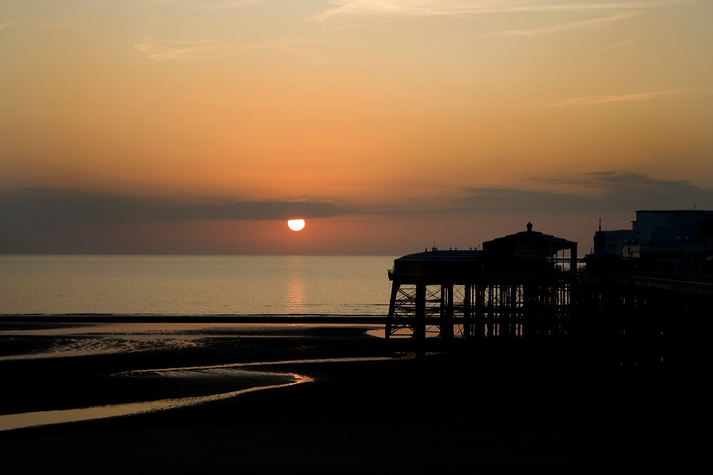 Blackpool Sunset by chris2766