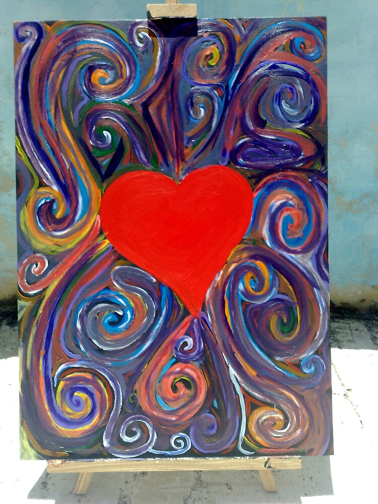 Heart in Motion by Jasmine Corvi