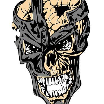 Broken Skull by JeferCelmer