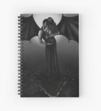 Dress of Embers Spiral Notebook