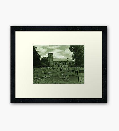 St Mary Church - Sledmere - East Yorks Framed Print