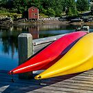 Two Kayaks by kenmo