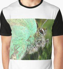 Gren Hair Streak Graphic T-Shirt