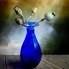 Blue bowl by Veikko  Suikkanen
