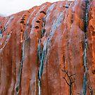*Waterfalls On Mighty Uluru* by Ronald Rockman
