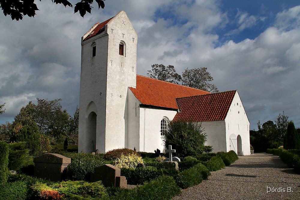 Fornæs Church by Þórdis B.