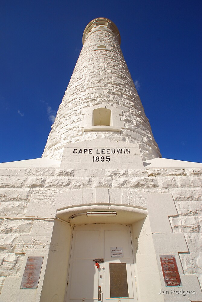 Cape Leeuwin Lighthouse WA by Janette Rodgers