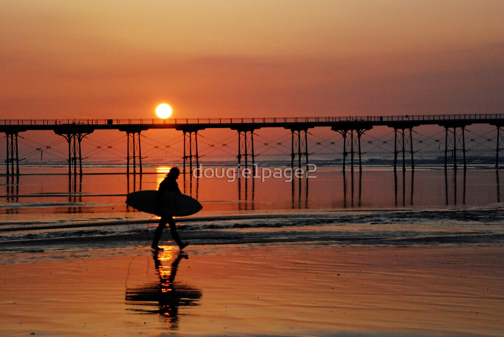Saltburn at Sundown by dougie1page2