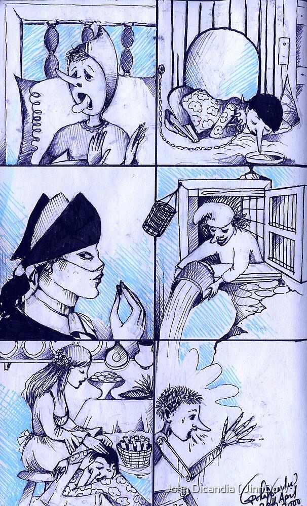 The Misadventures Of Pinocchio by John Dicandia ( JinnDoW )