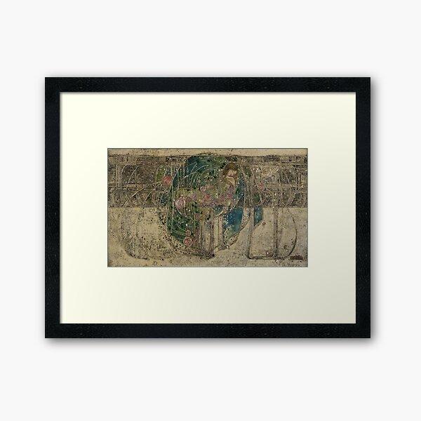Margaret Macdonald. The Sleeping Princess. Glasgow Style, Glasgow School. Framed Art Print