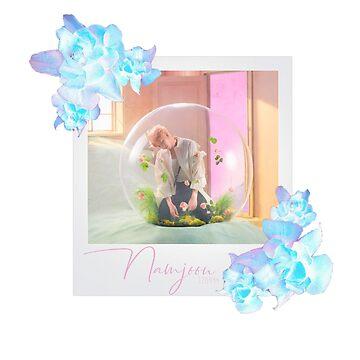 LY Answer - Namjoon Smeraldo Polaroid by sylnae