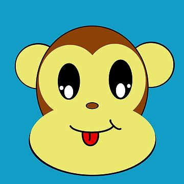 Monkey Face by Nehimy