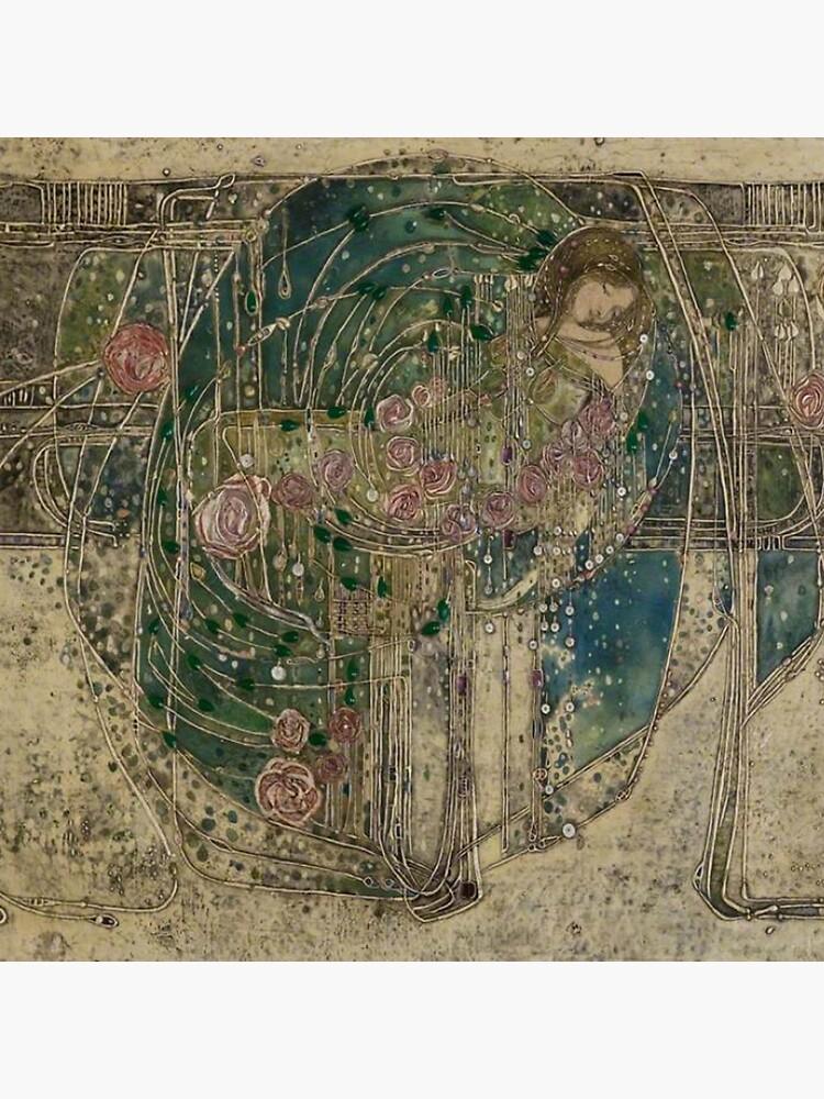 Margaret Macdonald, Die schlafende Prinzessin, Glasgow Style, Glasgow School von TOMSREDBUBBLE