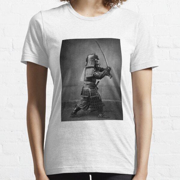 Samurai in black and white Essential T-Shirt