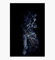 0207 - Brush and Ink - Skull or Skin Photographic Print