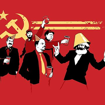 The Communist Party knows how to party! by poland-ball