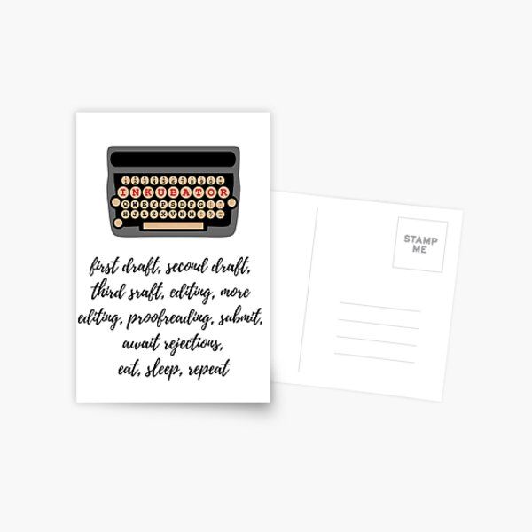 A Writer's Life Postcard