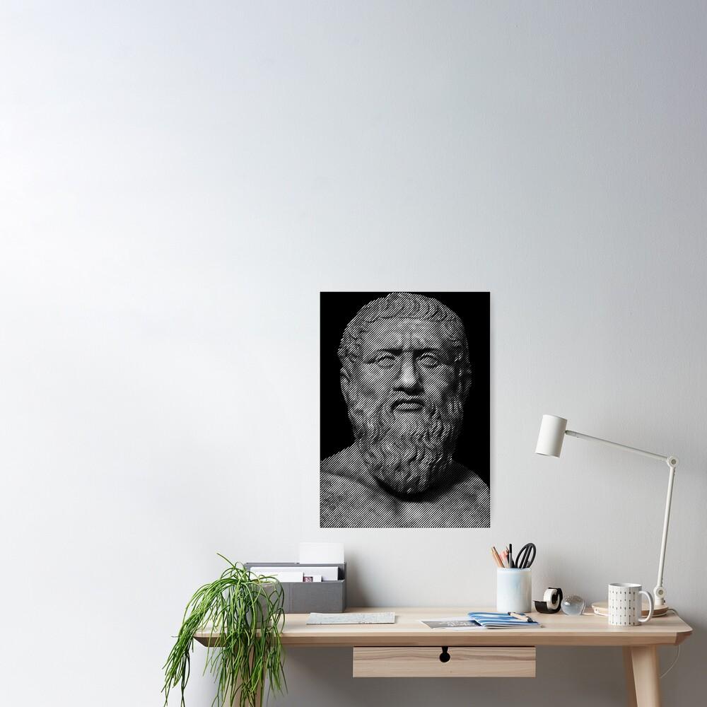 Plato  philosopher Poster