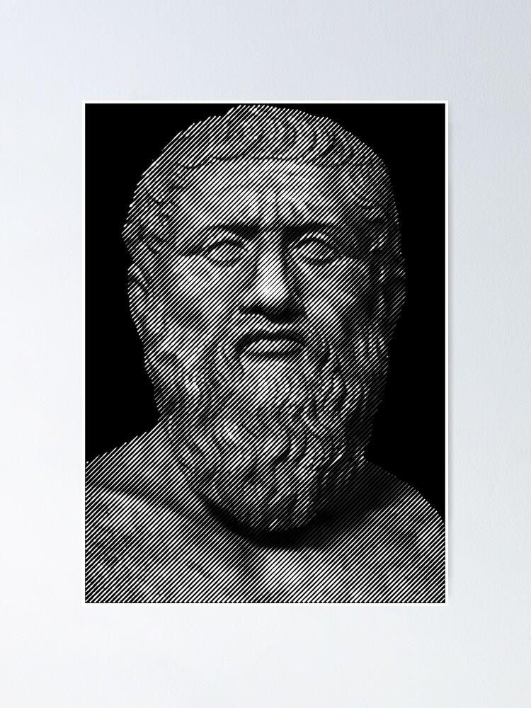 Alternate view of Plato  philosopher Poster