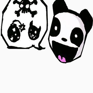 Mixed Feelings Panda by superkanin