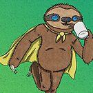 Coffee Sloth by SlothComics