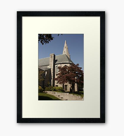 East Greenwich, Rhode Island, USA Framed Print