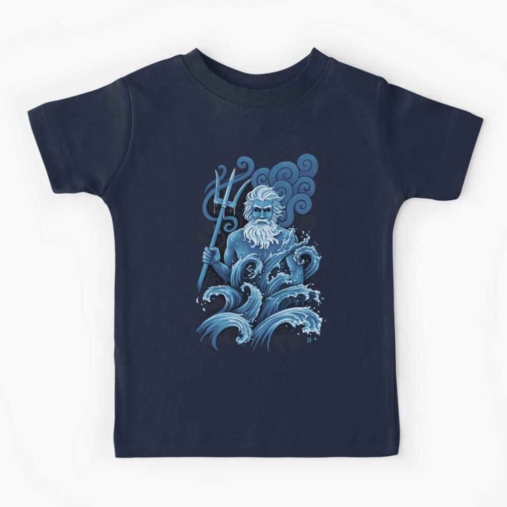 Poseidón Camiseta para niños