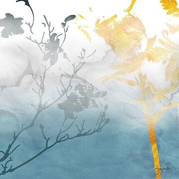 SEAFOAM BLUE DREAMS by alegnacreates