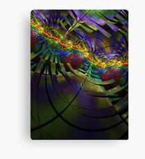 An evening of psychedelic trance Canvas Print