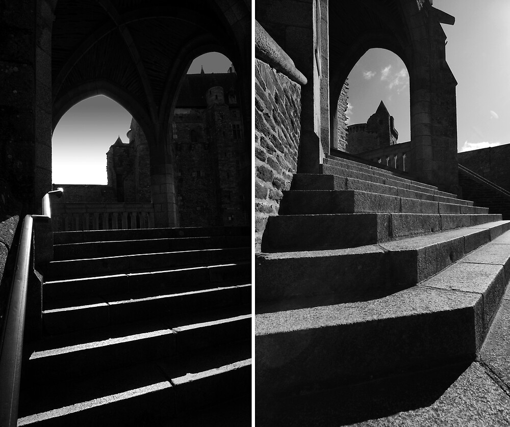 Vitres Steps diptych by ragman