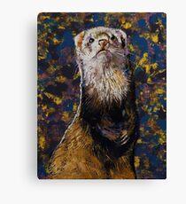 Regal Ferret Canvas Print