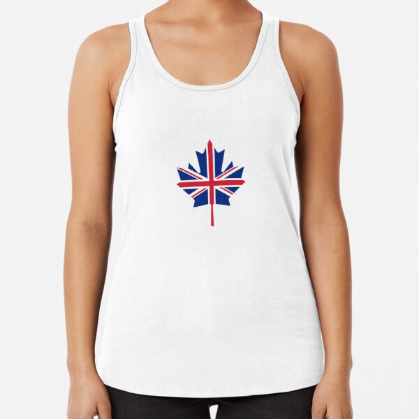 Robust Creative Canadian Pride Retro Flag of Canada American with Roots Vintage Black Tank Top