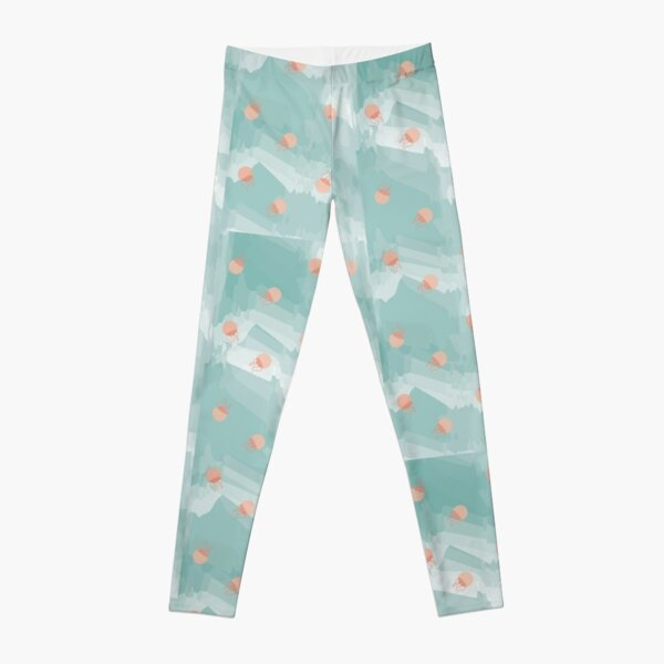 Arctic Jellyfish Leggings
