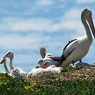 Mum And The Kids by Jon Staniland
