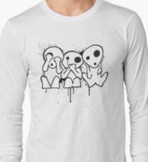 Kodama (Tree Spirits) Long Sleeve T-Shirt
