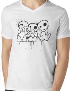 Kodama (Tree Spirits) Mens V-Neck T-Shirt