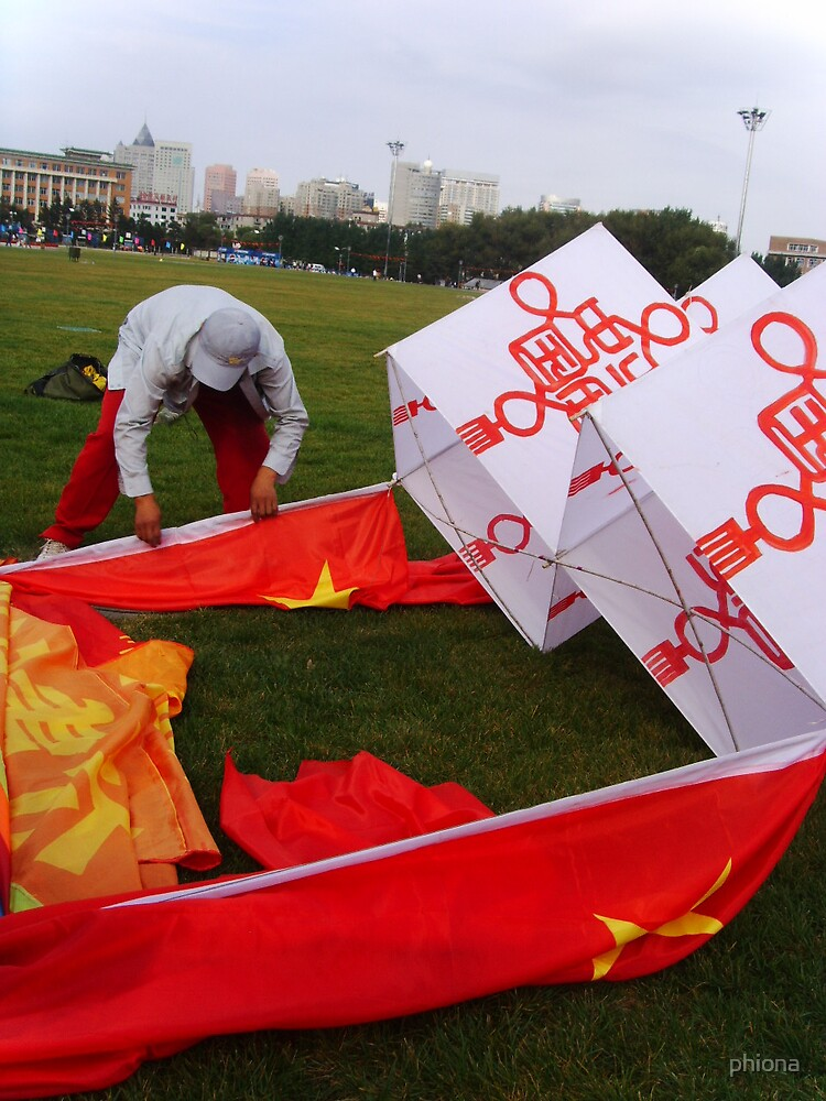 Skites for China's national day by phiona