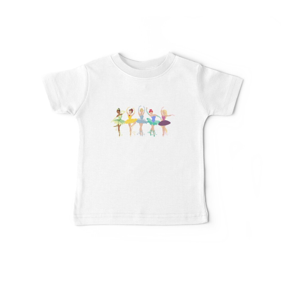 Custom Ballerina Princess Shirt Kids Clothes By Katherine Young