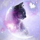 Galaxie Katze von Destroyed-Pixel