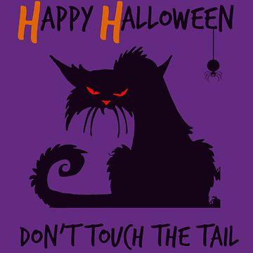 Halloween Kat by miniverdesigns
