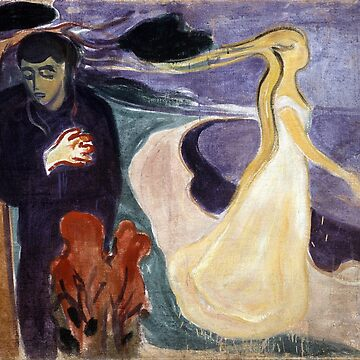 Separation by Edvard Munch (Reproduction) by RozAbellera