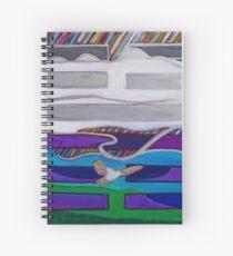 Hexagram 62: Xiăo Guò (Small Traverses) Spiral Notebook