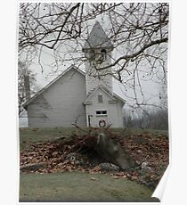 Country Church In Virginia Poster