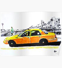 Taxi. Poster