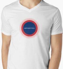 Antarctica Men's V-Neck T-Shirt